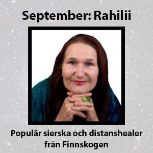 månadens spådam rahilii september